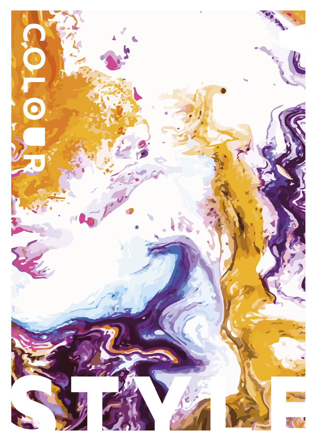 Colour style. Тетрадь общая (А5, 48 л., УФ-лак)