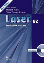 Laser Third Edition B2 Workbook with Key and CD Pack