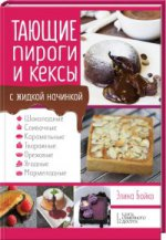 Тающие пироги и кексы с жидкой начинкой. Шоколадные, сливочные, карамельные, творожные, ореховые, ягодные, мармеладные